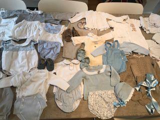 80 articulos ropa bebe 1-3 meses