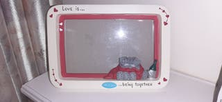 Love is being together.. Me to You photo frame