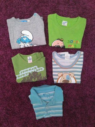 Lote de 5 Camisetas