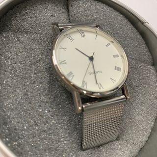 Elegante Reloj Tronika Unisex Pulsera Metal