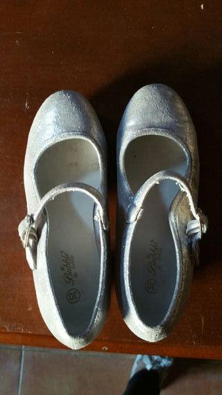 Zapatos de tacón niña