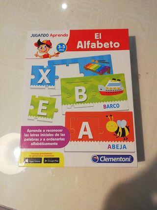 """Juego """"El alfabeto"""""""
