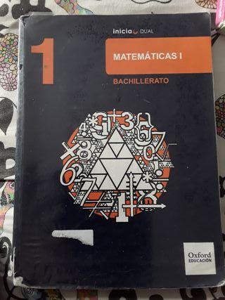 LIBRO DE MATEMÁTICAS 1 DE BALLICHERATO