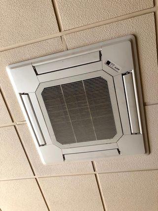 aire acondicionado de techo , sin uso 120m2