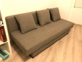 Sofá cama gris