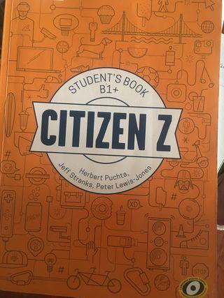 Libro Ingles citizen z