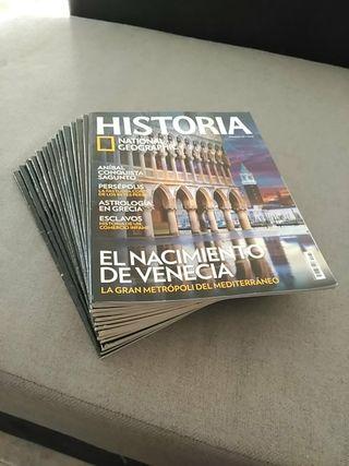 Revistas Historia National Geographic 2€ x unidad