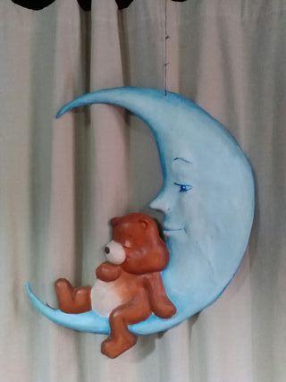 Osito con luna. Decoracion infantil