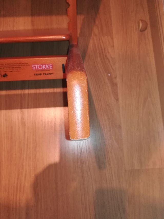 Trona Stokke + regalo d respaldo y barra