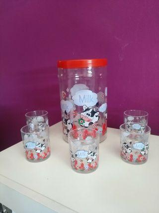 Conjunto vasos