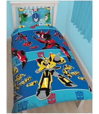 NUEVAS funda nórdica Transformers cama 90