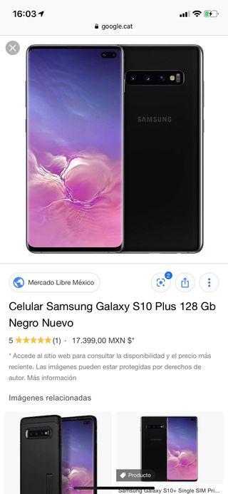 Vendo Samsung galaxy s 10 plus precintado