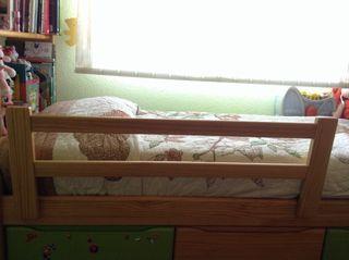 Valla/barrera cama nido