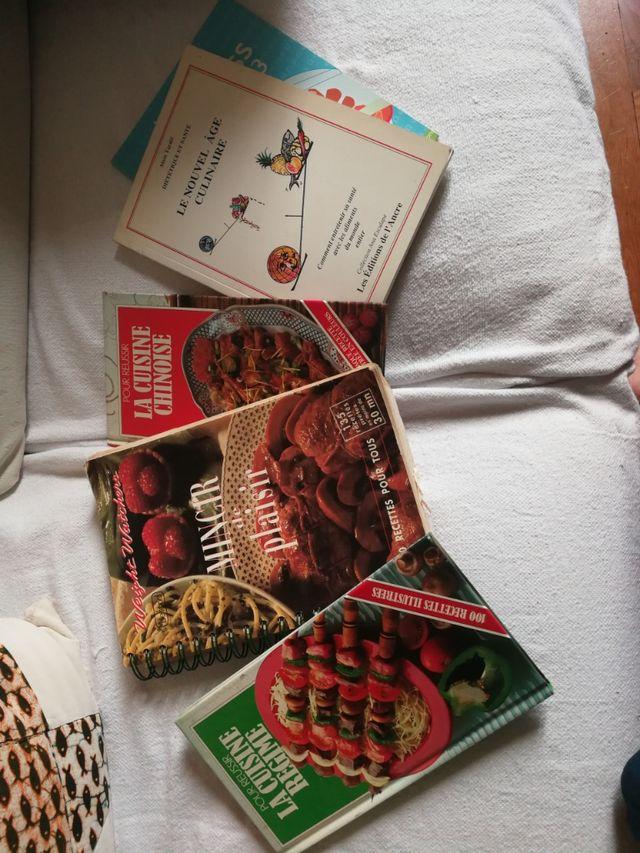 Lot de livres de cuisine