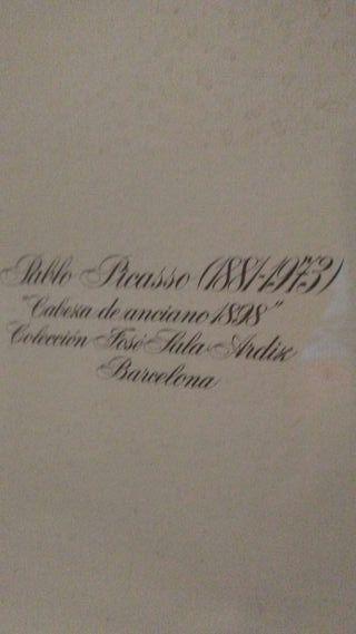 """Pablo Picasso.""""Viejo pescador"""""""