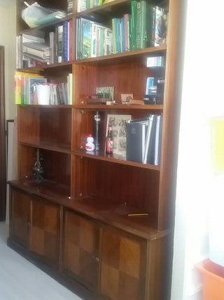 Muebles estantería madera maciza