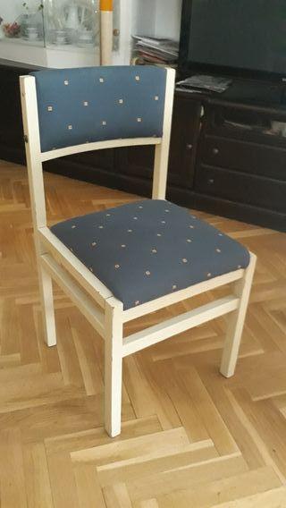 Conjunto mesa, sillas y sillones