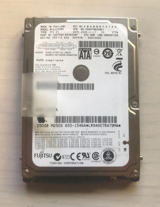 "Disco Duro 2.5"" 250GB Fujitsu APPLE SATA"