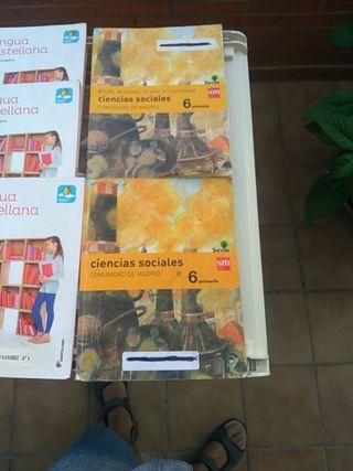 Libros sexto primaria Colegio Jarales