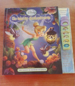 Libro desplegable Un talento deslumbrante. Disney.