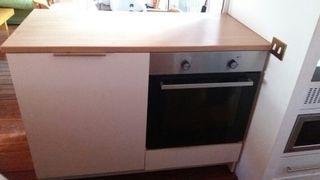 Horno + Mueble y Encimera Ikea