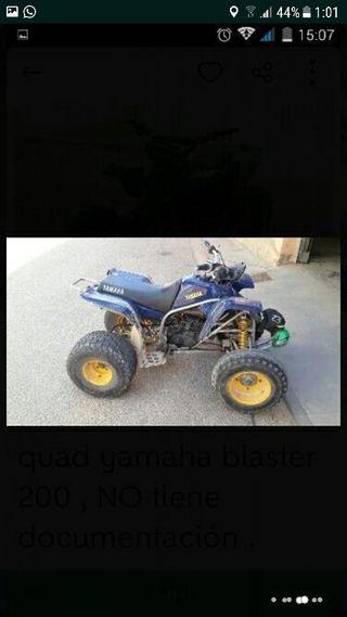 quad yamaha blaster