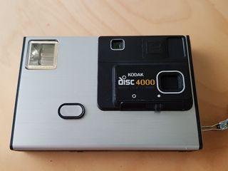 cámara fotos kodak disco 4000