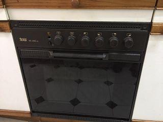 Horno eléctrico empotrable y cocina de gas