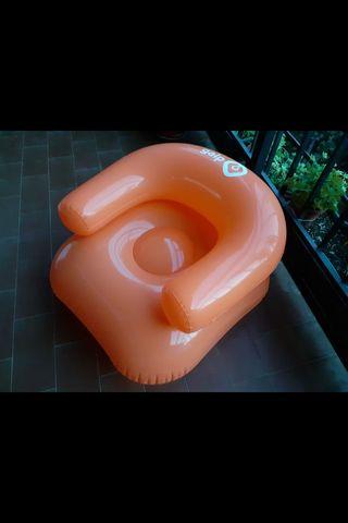 Sillon hinchable piscina jardi