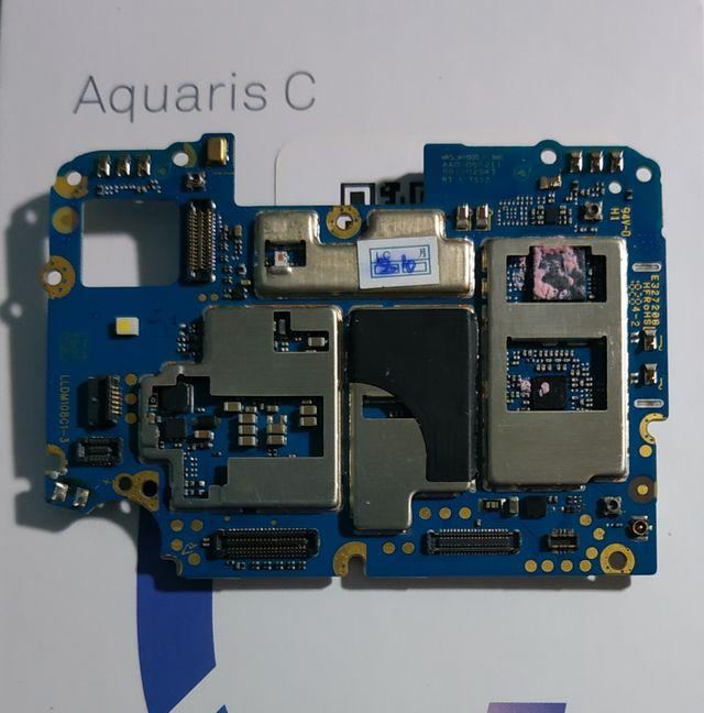 Placa base ORIGINAL Bq Aquaris C DEFECTUOSA