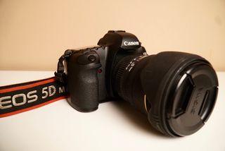 Canon 5d Mark II + Sigma 24-70mm 2.8