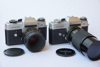 2 Leicaflex SL, Macro-Elmarit-R 60mm f/2.8 y más