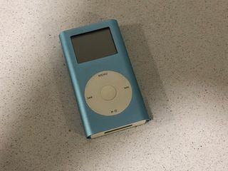 iPod Mini 4 Gb azul (vintage coleccionista)