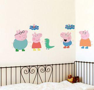 Vinilo decorativo infantil peppa pig