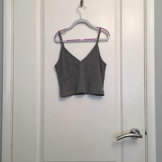 topshop cami crop top