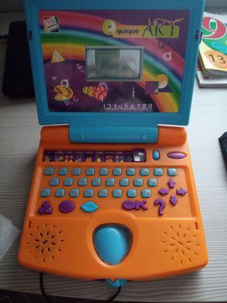 Mini ordenador educativo