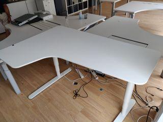 1 Mesas de oficina Bekant