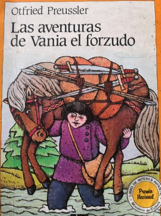 LAS AVENTURAS DE VANIA EL FORZUDO - OTFRIED PREUSS