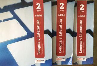 Lengua y literatura ESO 2 editorial edebe