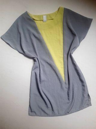 Vestido bicolor de Vila
