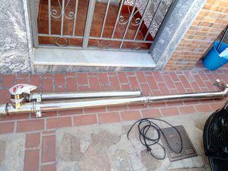 tubo para estufa de pellets