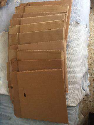 10 cajas de cartón embalaje/para vinilos