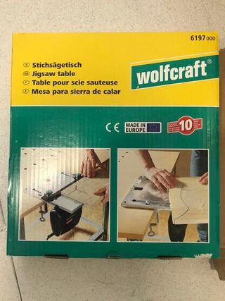 Mesa corte sierra calar wolfcraft nueva