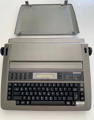 Máquina de escribir electrica Panasonic con LCD