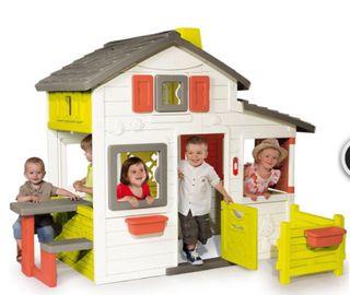 Casa Smoby Friends Amigos casita jardín niños