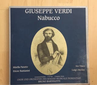 Disco de vinilo GIUSEPPE VERDI