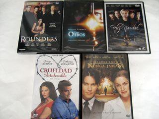 Colección 5 películas DVD