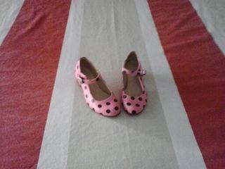 zapatos niña de tacón