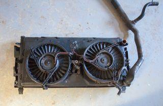 Radiador y electro ventiladores transporter t4