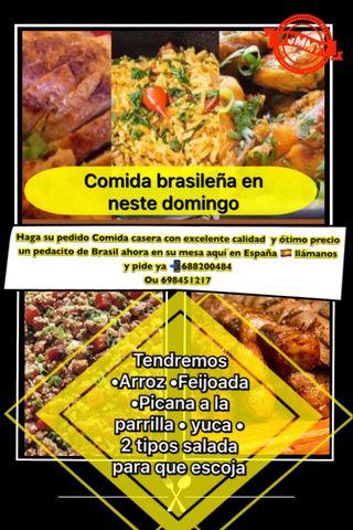 Comida brasileira a domicilio
